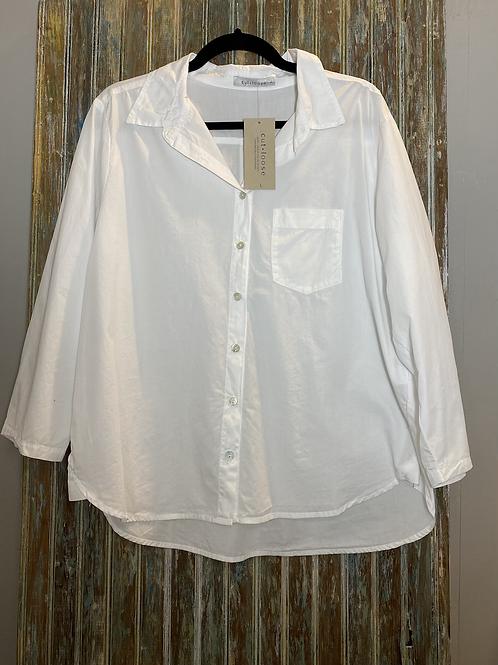 3/4 Sleeve Pocket Shirt