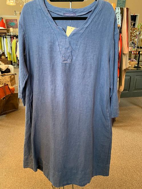 Heavy Linen Dress w/ pockets