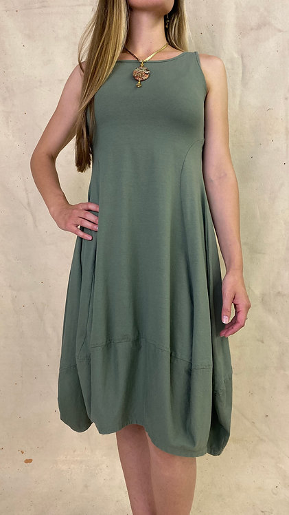 Sleeveless Bubble Dress