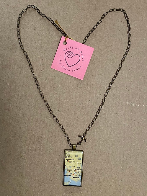 """""""You are Here"""" Necklace"""