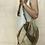 Thumbnail: Patchwork Burlap Shoulder Bag