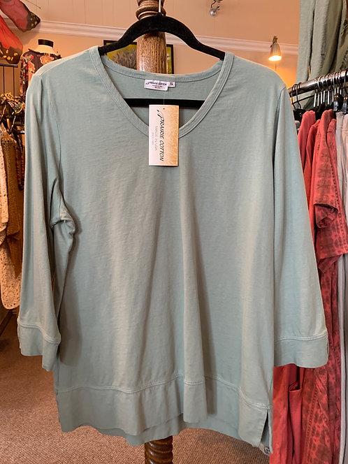 3/4 Sleeve Jersey Top