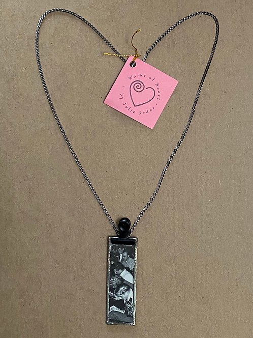 Vintage Photo Pendant Necklace