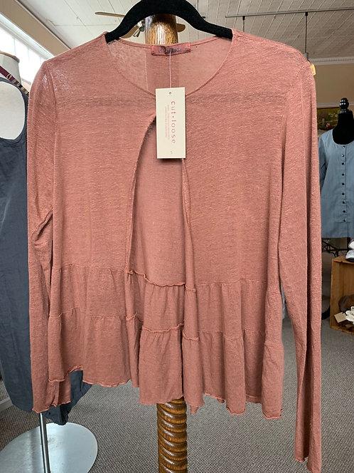 Linen Sweater Jacket