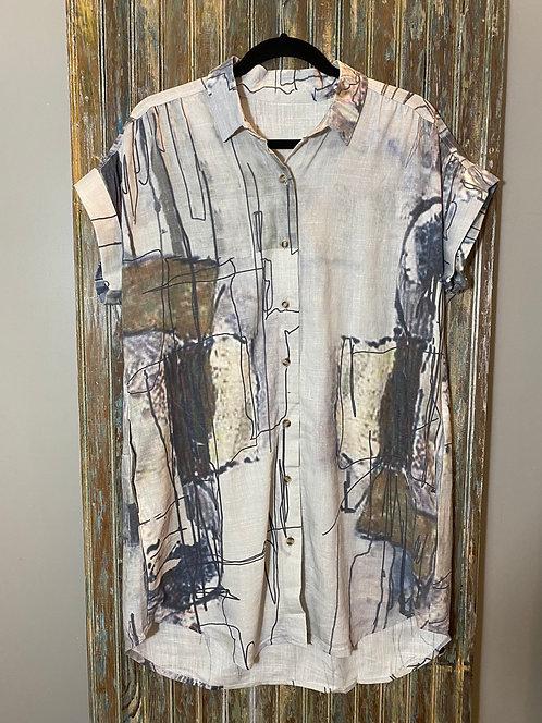 Short Sleeve Long Shirt