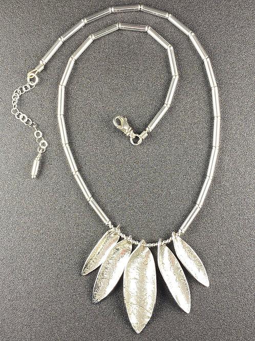 Five Leaf Necklace