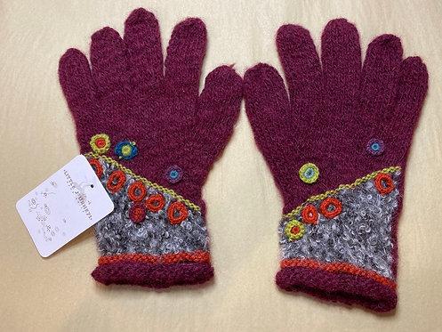 Alpaca Knit Gloves