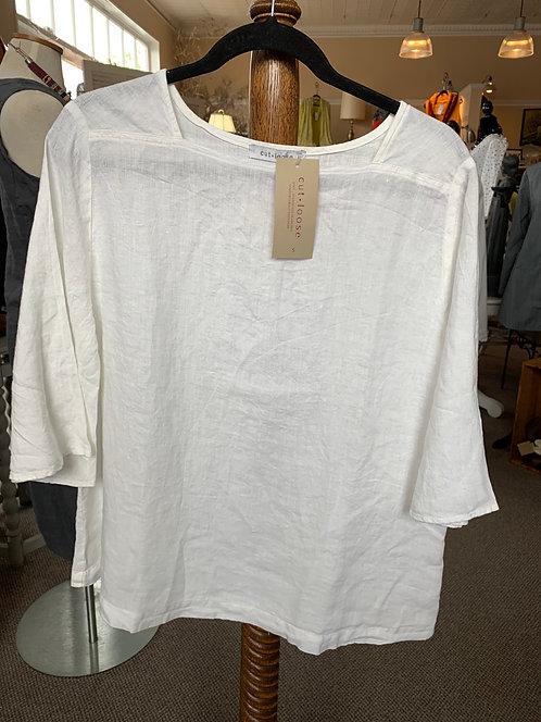 Linen 3/4 Sleeve Top