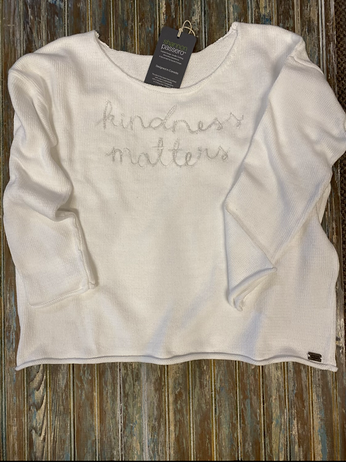 Crew Neck Pullover - Kindness Matters