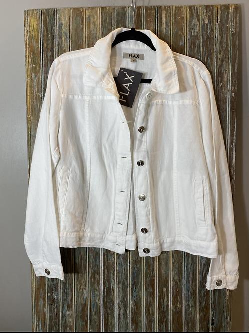 Linen/Cotton Jean Jacket