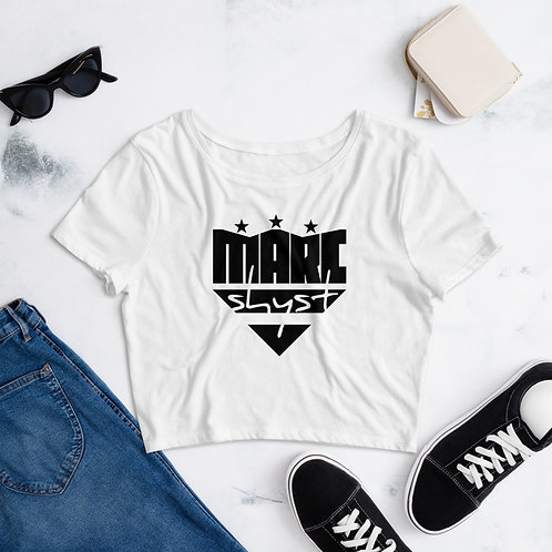 Marc Shyst- Women's Crop Tee