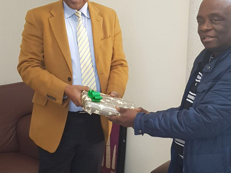 Send off reception in honour of Mr. Friday Udobong Hanson