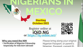 NIN (National Identification Number) is coming to Nigerians in Mexico