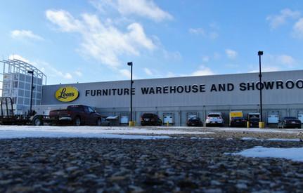 Funiture warehouse and showroom
