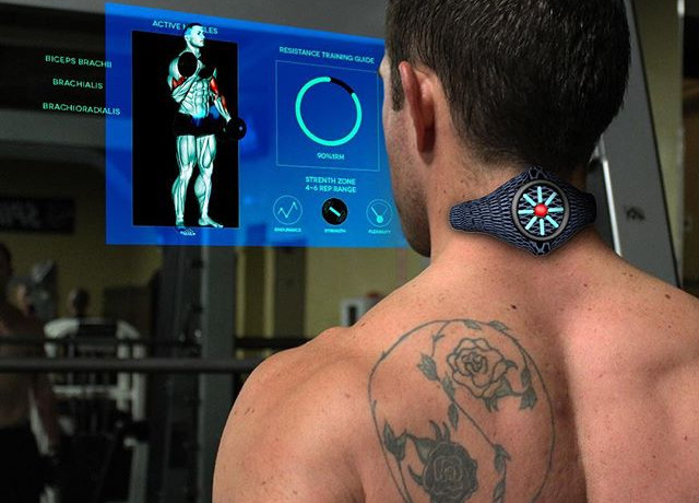 3D Motion Graphics Fitness Tracker