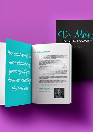Dr. Molly Pop-up Life Coach