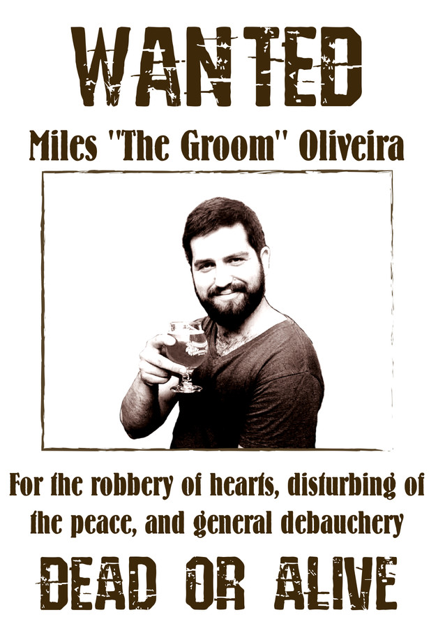 Bachelor Party Wanted Poster