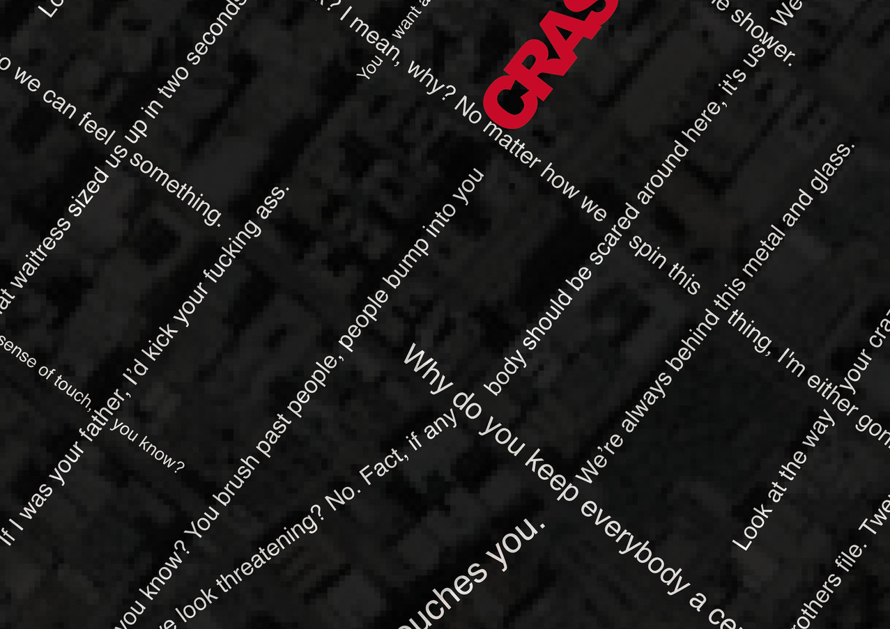Crash Poster close up
