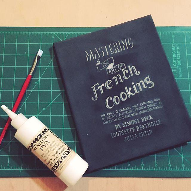 Cookbook Design DIY Bookbinding