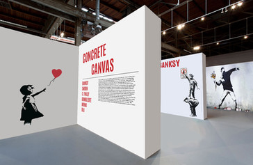 Exhibition wall