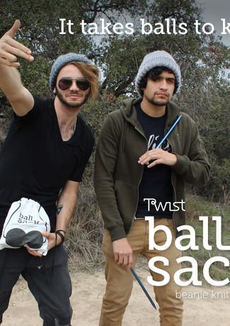 It takes balls to knit