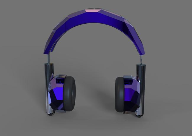 3D Discoball headphones