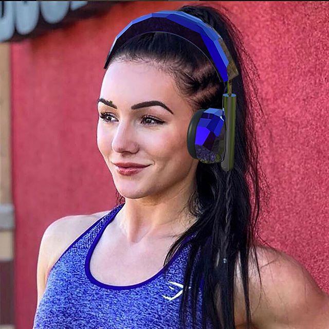 Headphones for GymShark
