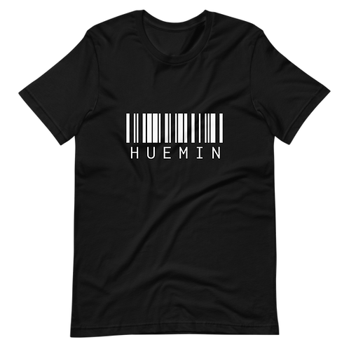 HUEMIN Barcode Tee