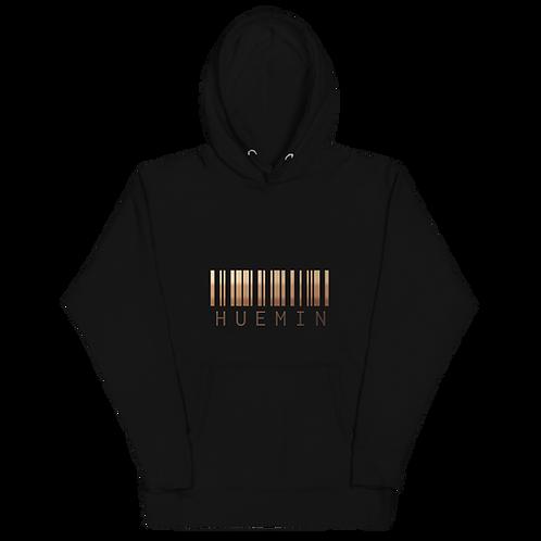 HUEMIN Melanin Barcode Hoodie