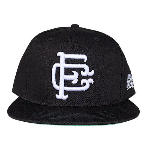 BK Black Emblem Snapback