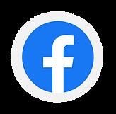 facebook logo round
