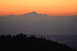 Sur le Mont Blanc