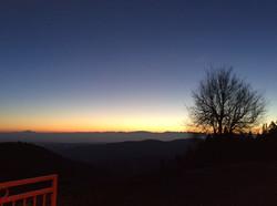 Le soleil se lève