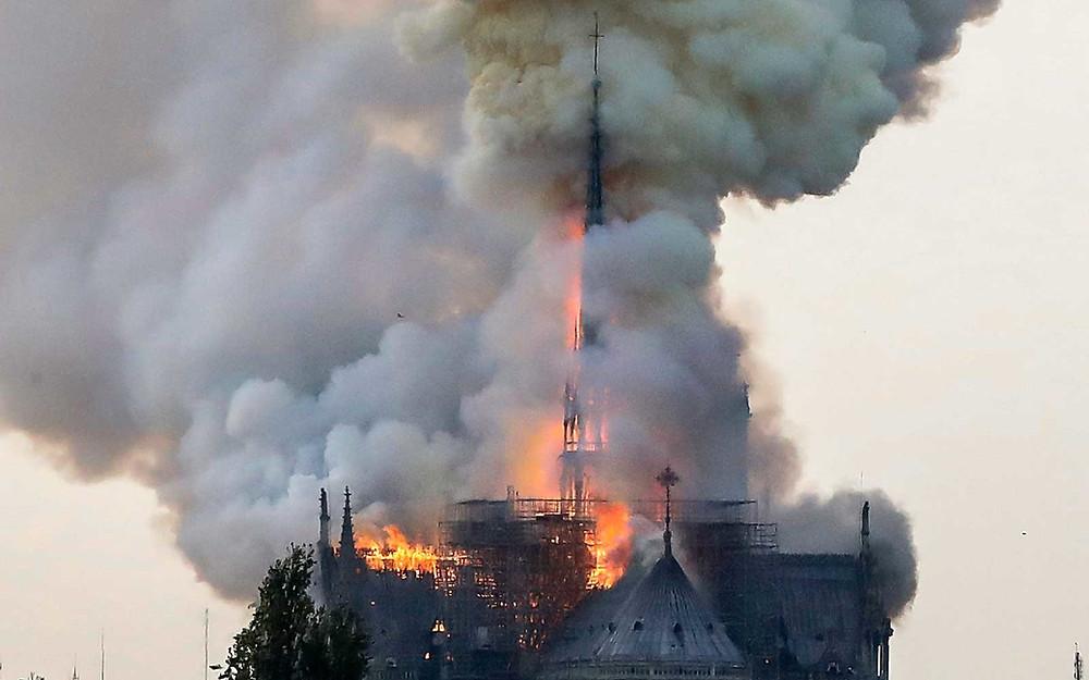 Notre-Dame de Paris Cathedral fire