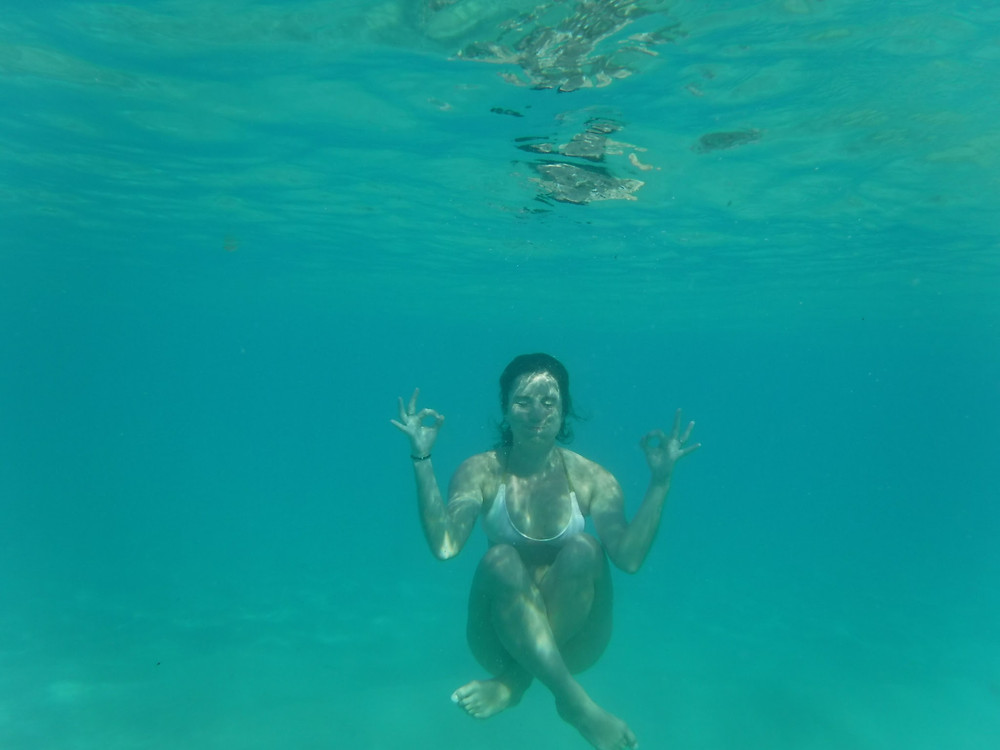 Being zen, even under water