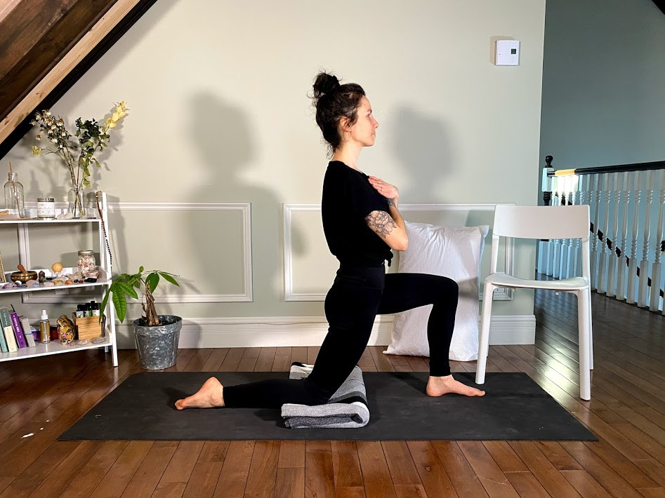 Yoga au travail avec Andy L.