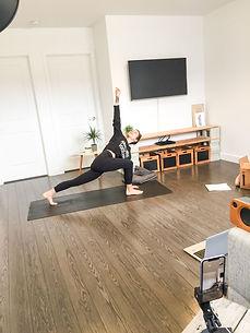 Yoga en ligne avec Andy L.
