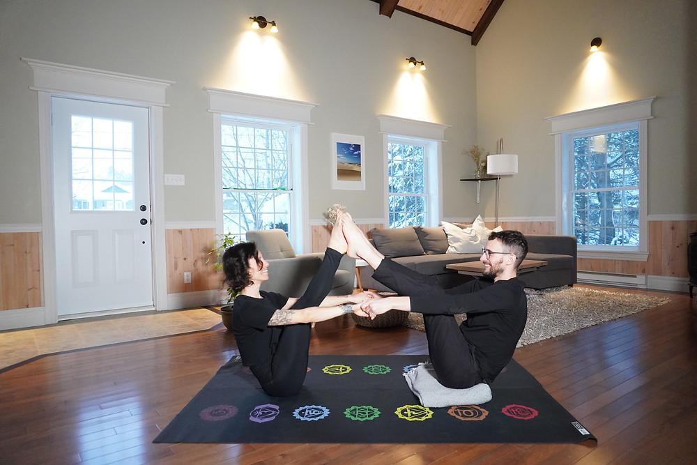 Yoga avec partenaire