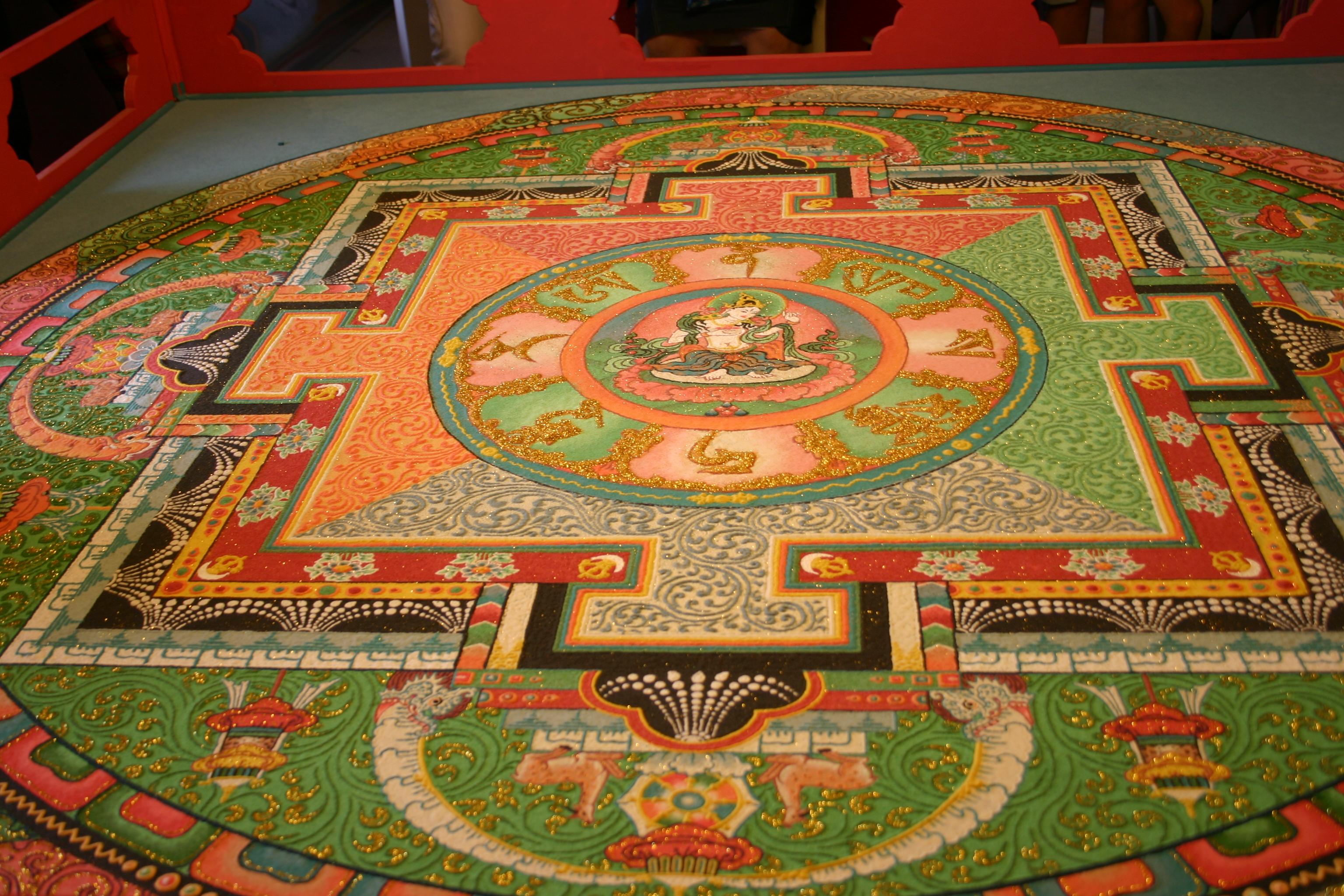 Temple des 1000 bouddhas mandala