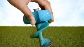 Akhrot Digger, makes it easy peasy to fertilize or to sow seed in your garden