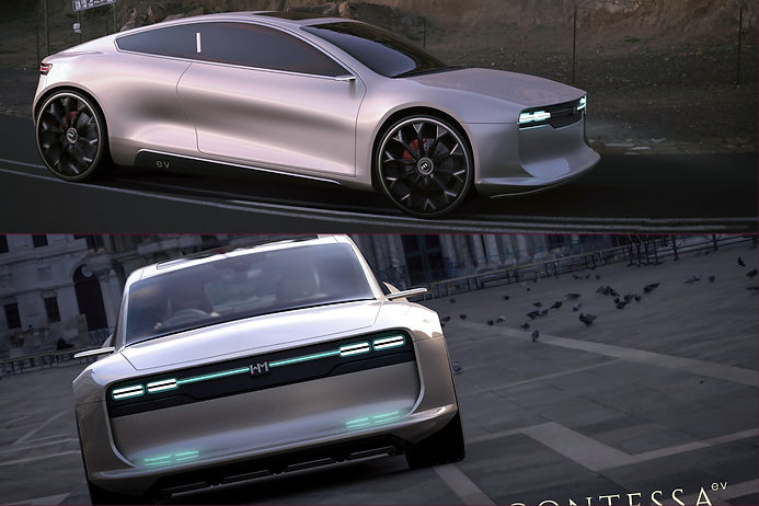 Remember Hindustan Motors' iconic Contessa? Here is its EV concept avatar