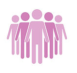 Pink people graphic - Upholding ethical considerations