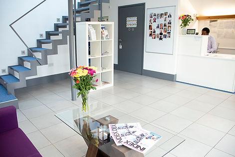 4Life Healthcare Services' reception in Canterbury