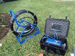 Sewer scope equipment