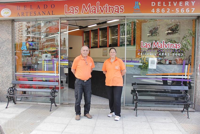 HELADERÍA LAS MALVINAS