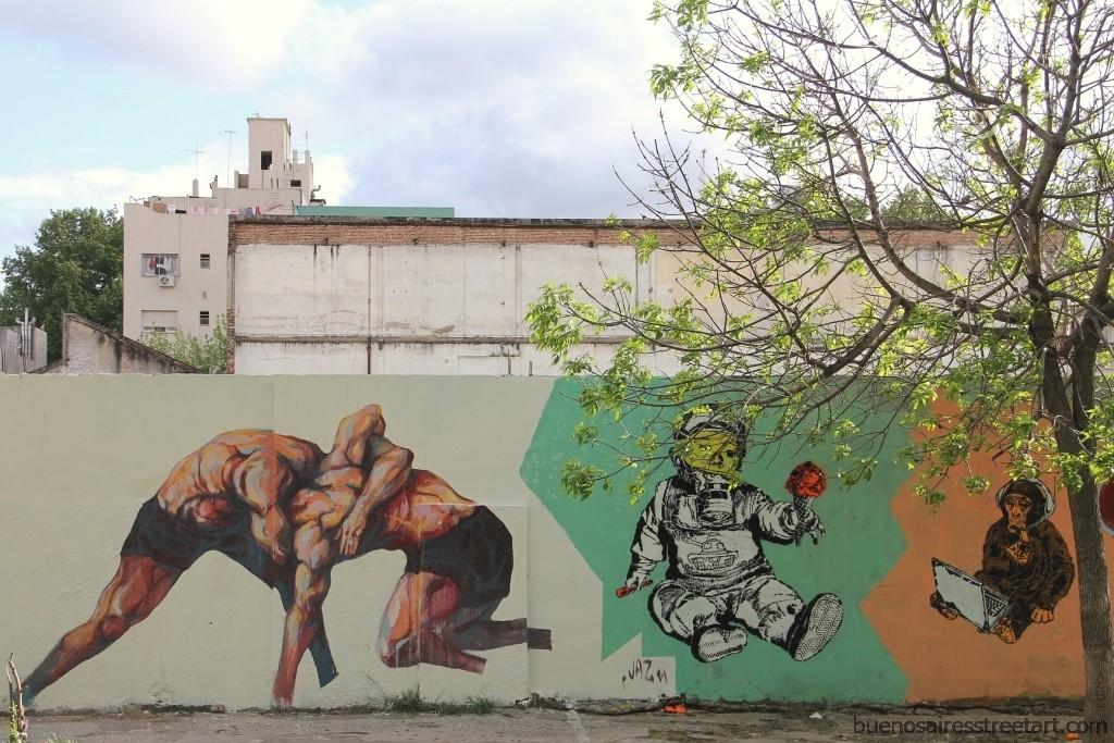 GRAFFITIS DE VILLA CRESPO