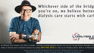 Healthcare Newspaper Ad