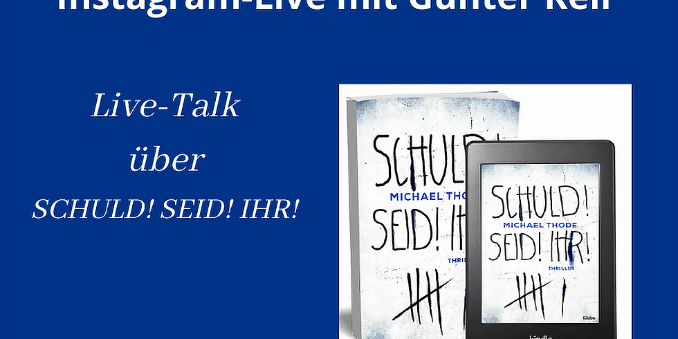 Instagram-Livetalk mit Günter Keil