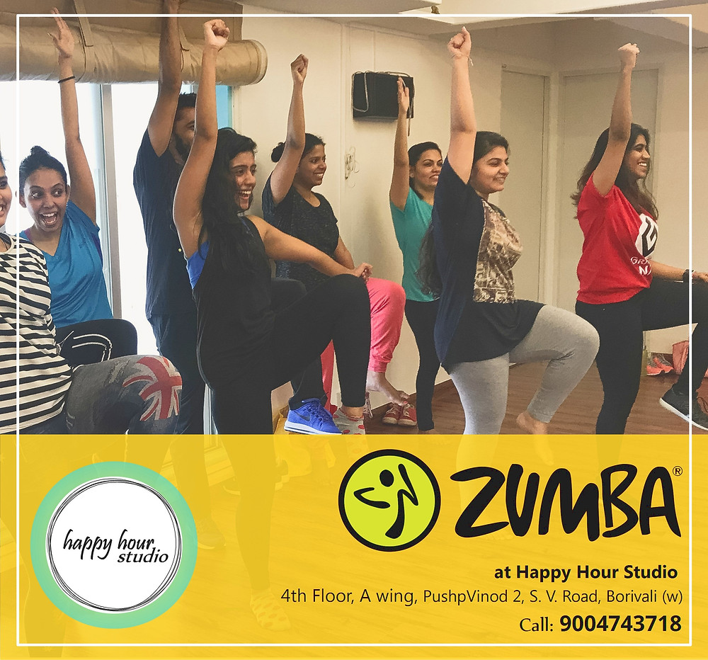 Zumba Sessions at Happy Hour Studio