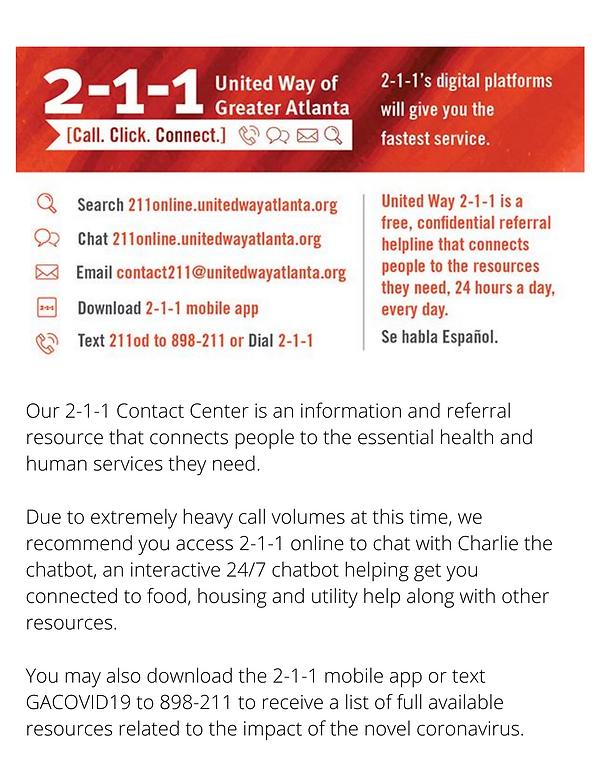 Atlanta COVID-19 Emergency Rental Assist
